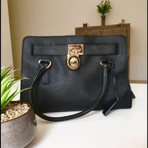 Authentic MK Saffiano Hamilton bag in medium